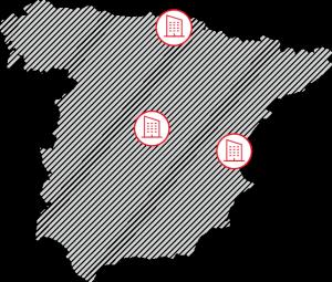 Mapa de las cocinas